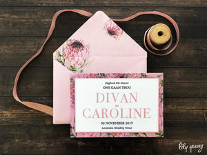 Caroline Printed save the date