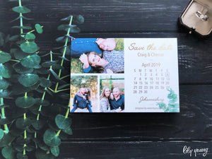 Cherise Printed save the date