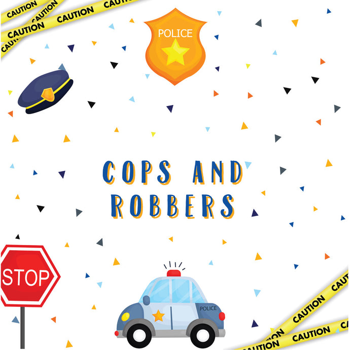 Cops & Robbers Party Package - Pack of 12