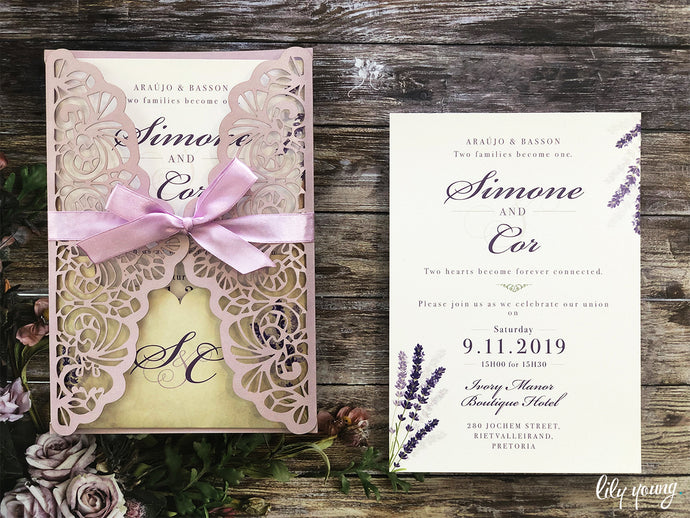Cor Printed invite