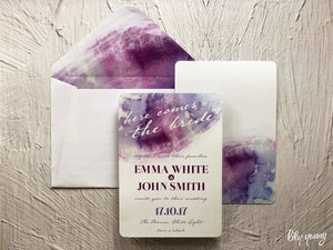Emma Printed invite