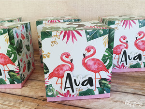 Flamingo Party Boxes - Pack of 12