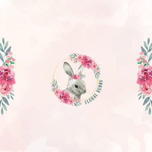 Floral Bunny Party Package - Pack of 12