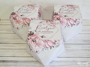 Floral Large Box - Pack of 12