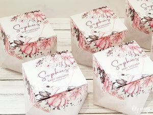 Floral Medium Party Boxes - Pack of 12