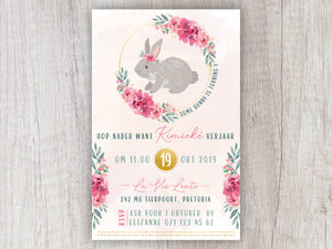Bunny E-Invitation