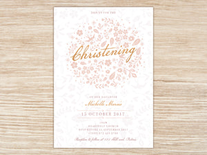 Girl Blush E-Invitation