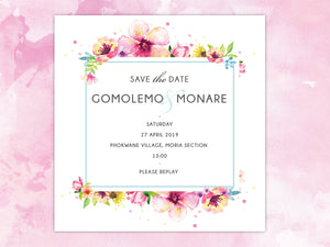 Gomolemo E-Save the date
