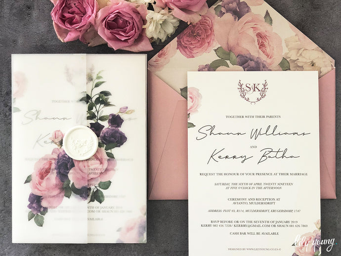 Kerry Printed invite