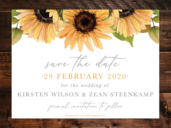 Kirsten E-Save the date