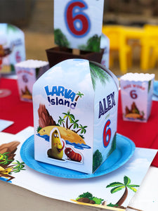 Larva Island Party Boxes - Pack of 12