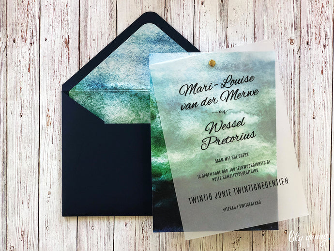 Mari-Louise Printed invite