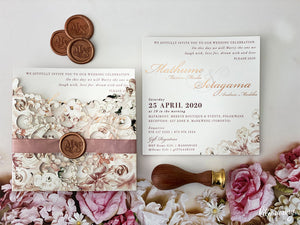 Mathume Printed invite