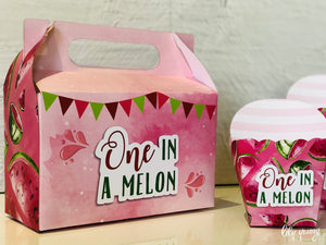 One in a Melon Party Boxes - Pack of 12
