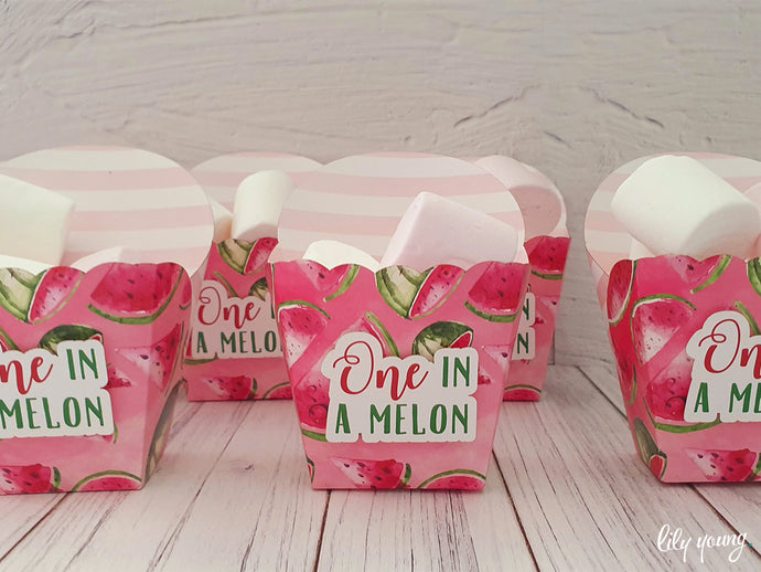 One in a Melon Snack Bowls - Pack of 12