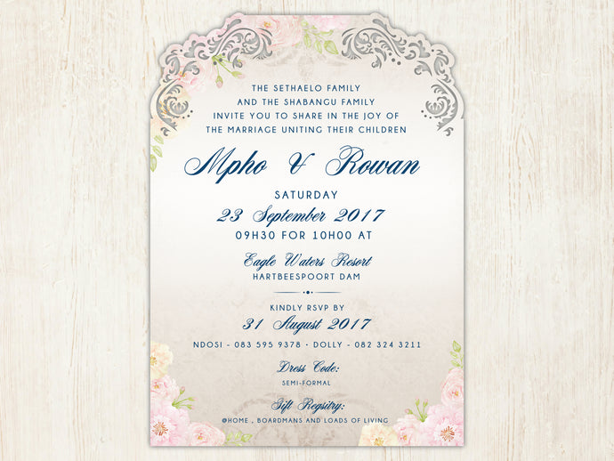 Mpho E-Invitation