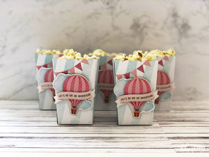 Up, up & away Popcorn box - Pack of 12