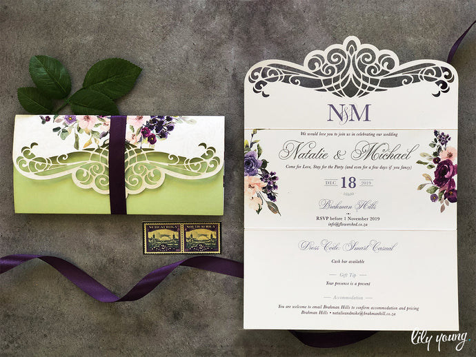 Michael Printed invite