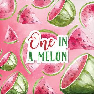 One in a Melon Party Package - Pack of 12