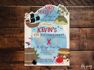 Pirate E-Invitation