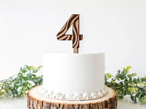 Safari Cake topper - Pack of 1