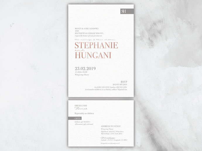 Stephanie E-Invitation