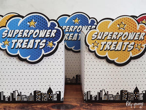 Superhero Party Boxes - Pack of 12