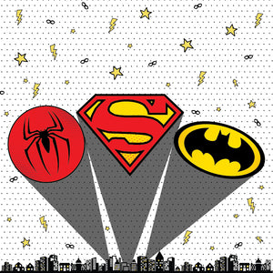 Superhero Party Package - Pack of 12