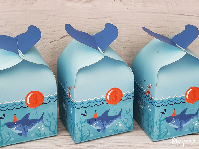 Under the sea Party Boxes - Pack of 12