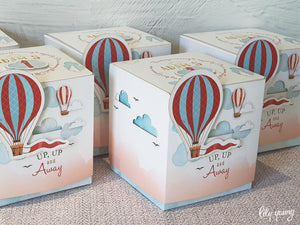 Up, up & away Boy Party Boxes - Pack of 12