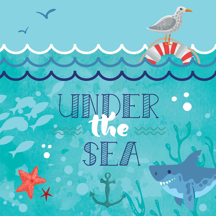 Under the Sea Party Package - Pack of 12
