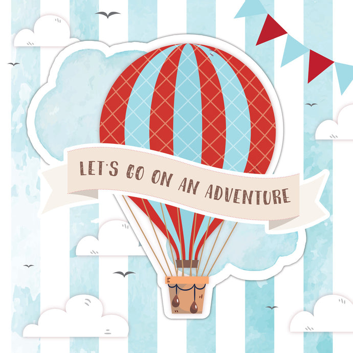 Up, Up & Away Boy Party Package - Pack of 12