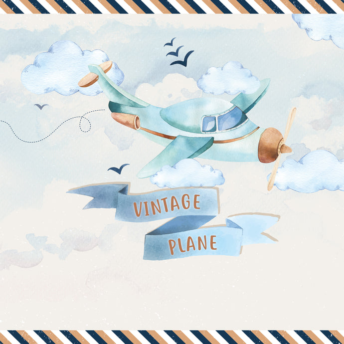 Vintage Plane Party Package - Pack of 12