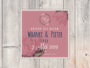 Whanri E-Save the date