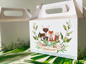Large Fox Party Boxes - Pack of 12