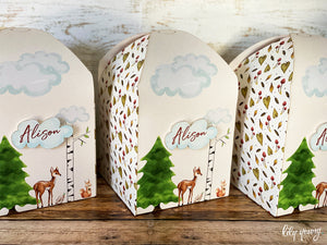 Large Woodlands Party Boxes - Pack of 12