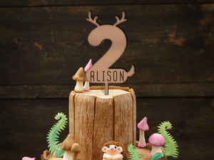 Woodlands Cake topper