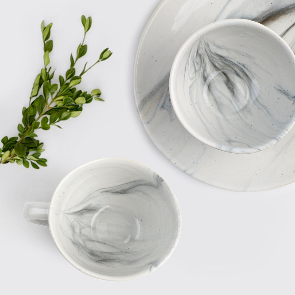 The Confluence Breakfast Set <span><br> Monsoon Grey </span>