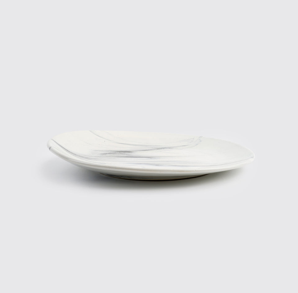 The Confluence Dinner Plate <span><br> Monsoon Grey </span>