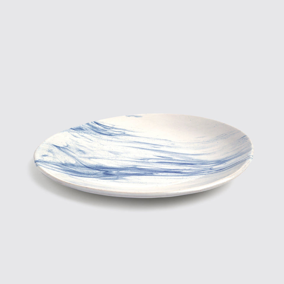 The Confluence Dinner Plate <span><br> Indigo </span>