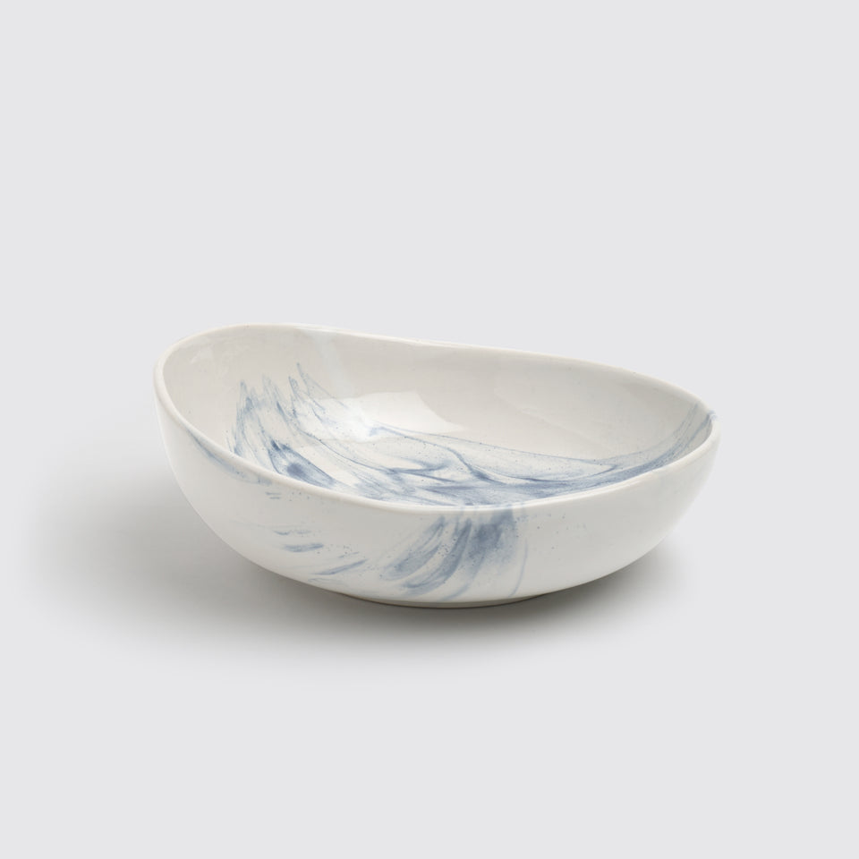 The Confluence Serving Bowl <span><br> Indigo </span>