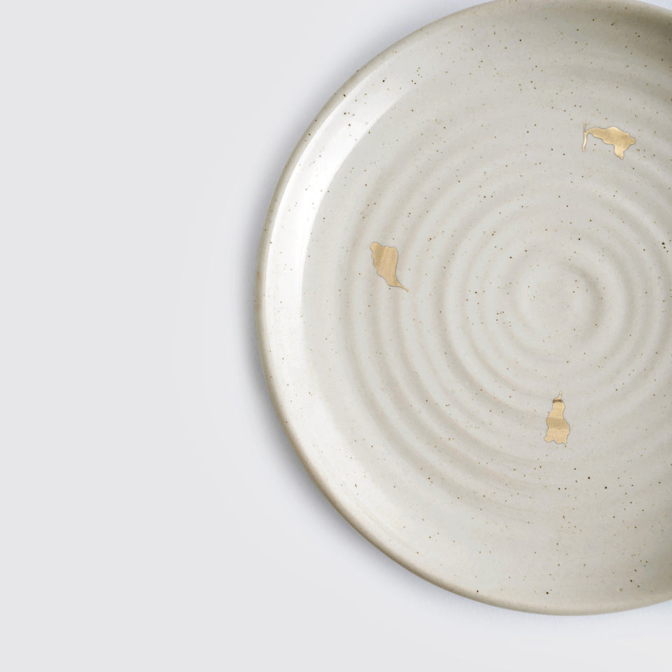 The Ganga Quarter Plate <span><br> Beige </span>