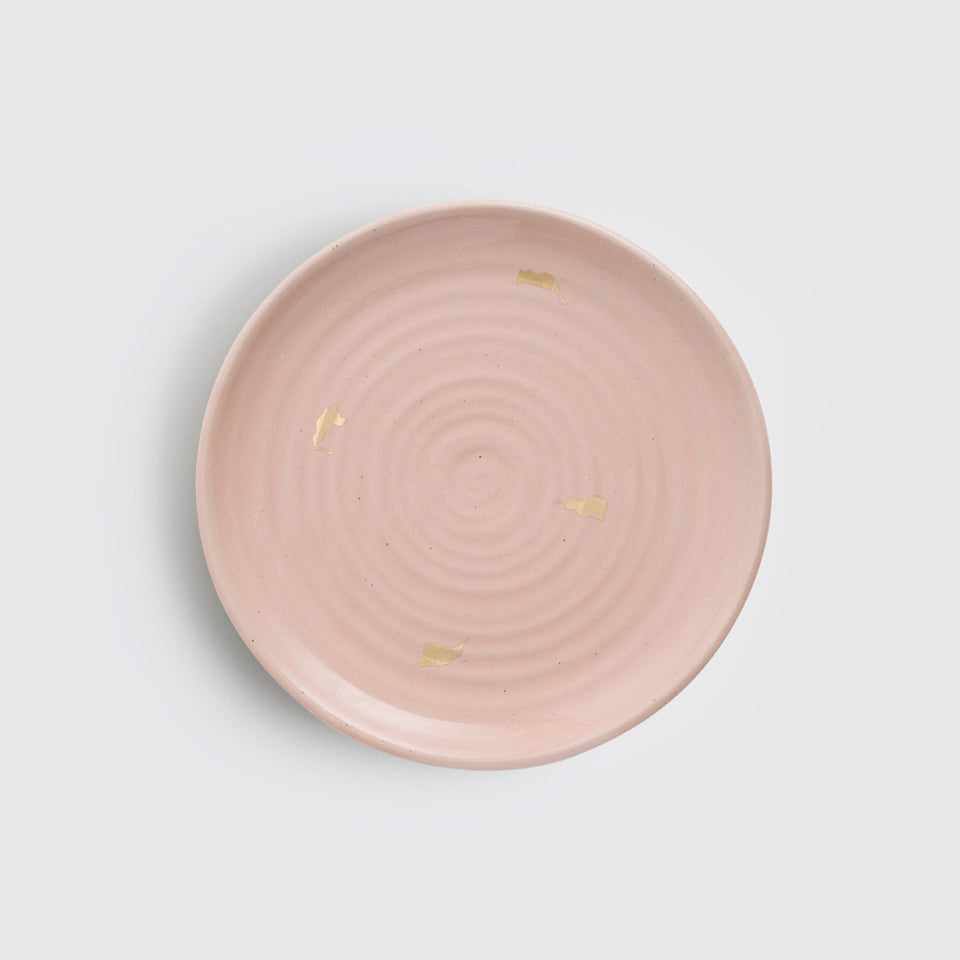 The Ganga Quarter Plate <span><br> Old Rose </span>
