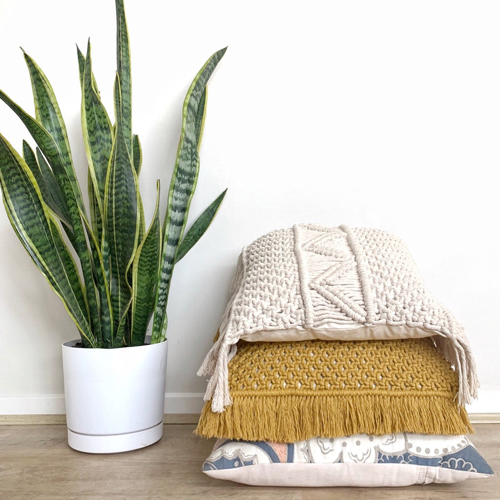 Macrame Cushion Cover Pattern