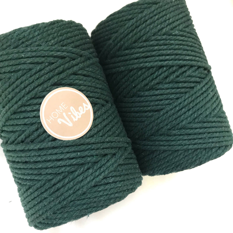 MOSS Coloured Macrame Cord 4mm 100m