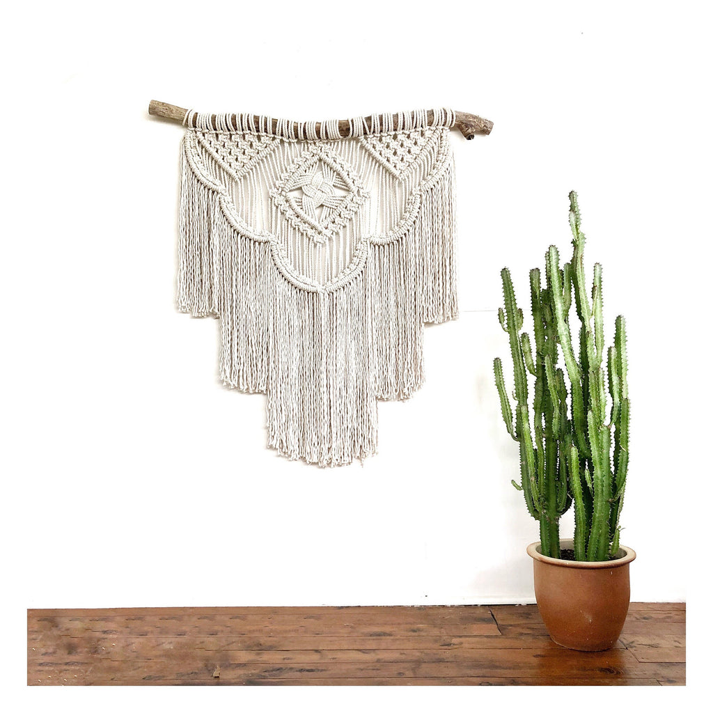 "Macrame Wall Hanging Extra Large ""Odyssey"""