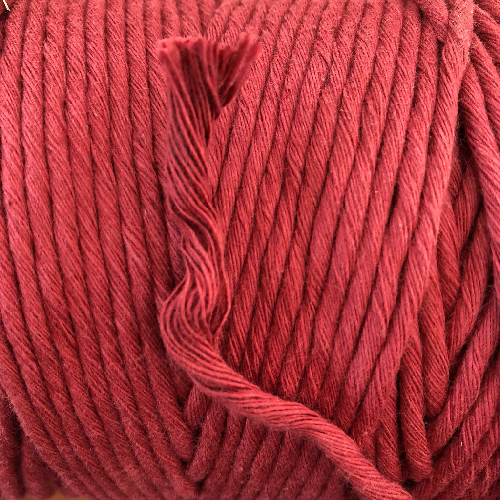 ROSEWOOD Coloured Macrame Cord 4mm 1kg