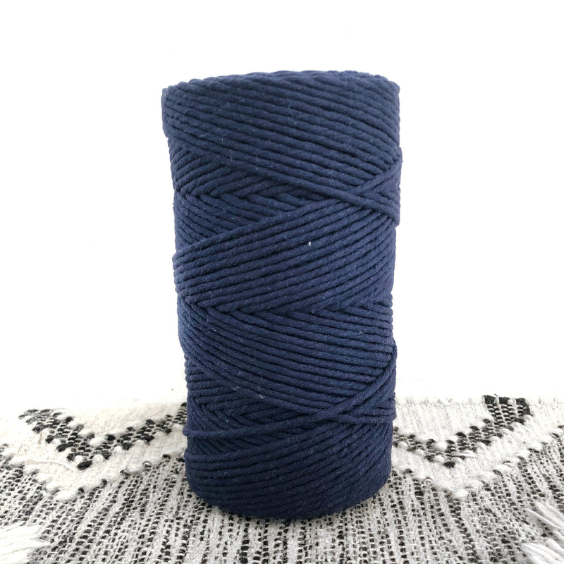 NAVY BLUE Coloured Macrame Cord 4mm 1kg