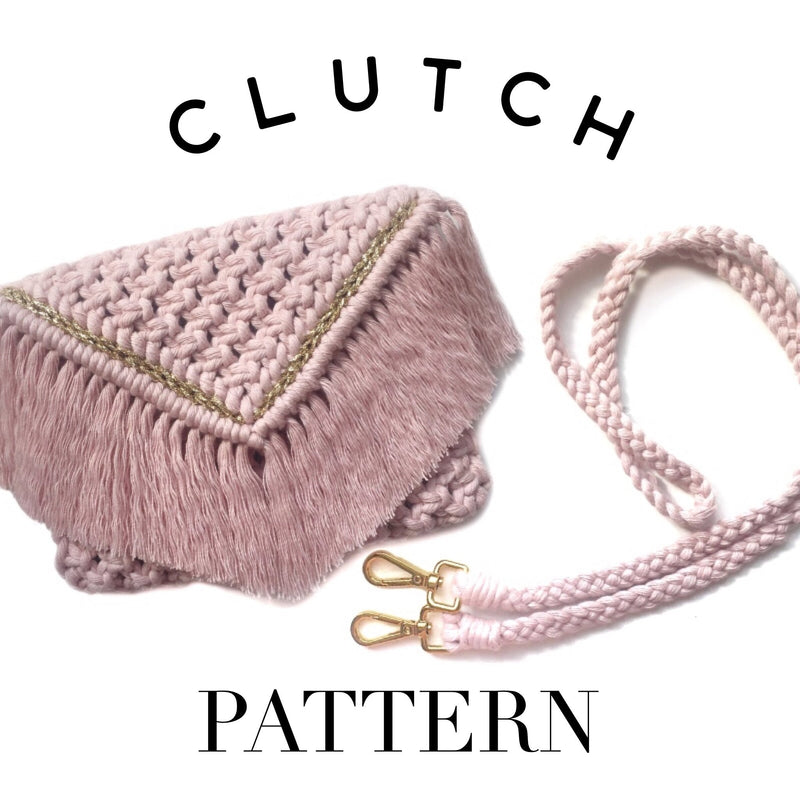 Macrame Clutch Pattern