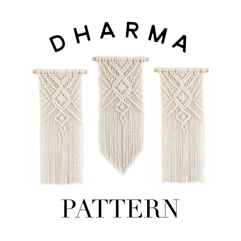 "Beginner Friendly ""Dharma"" Macrame Pattern"